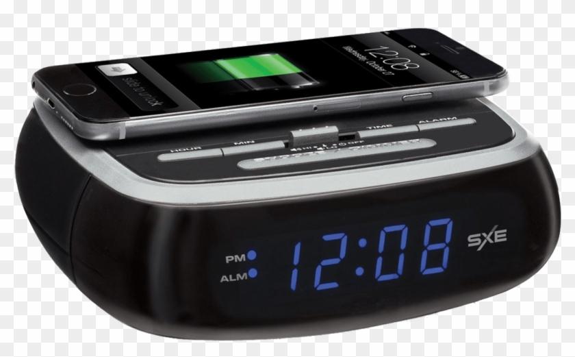 Sxe Wireless Charging Alarm Clock, HD Png Download