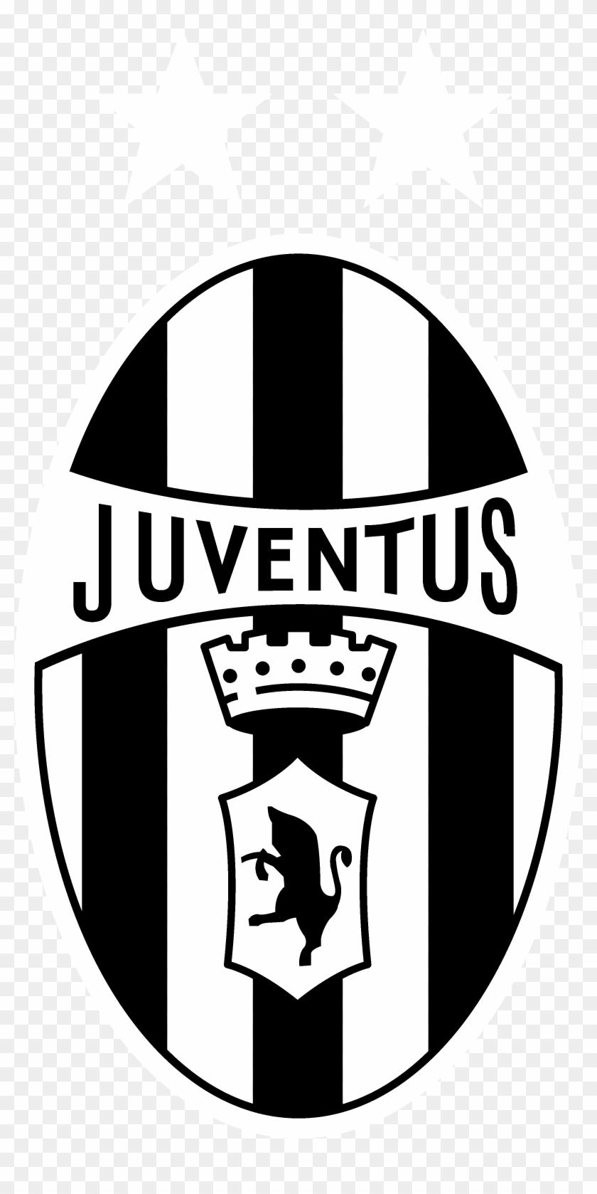 Juventus Logo Black And White - Juve Logo No Background, HD