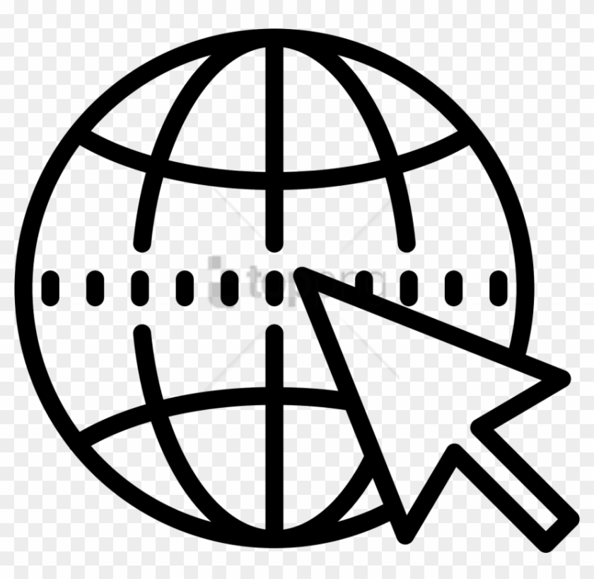 Free Png Internet Icon Globe Vector Icon Png Transparent Png 850x789 2472886 Pngfind