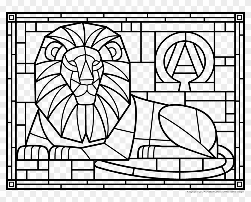 Stained Glass Coloring Pages Ideas - Whitesbelfast | 676x840