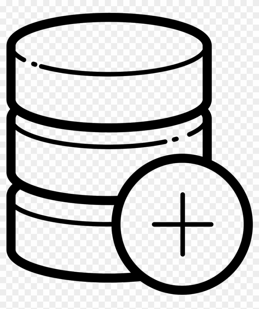 Add Database Icon Free - Icon, HD Png Download - 1600x1600