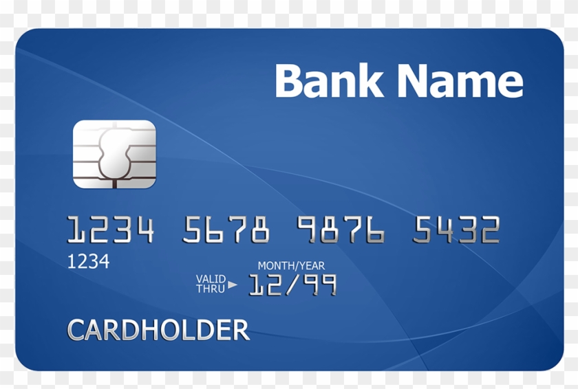 Printed Plastic Card - Card Io Test Credit Card, HD Png Download