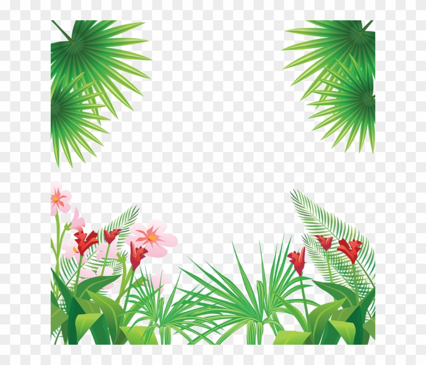 Tropical Leaves Flowers Frame Tropical Flowers Png Tropical Frame Png Transparent Png 640x640 253144 Pngfind Tropical frame eucalyptus leaves floral botanical watercolor frame png greenery leafy clipart wedding invitation greeting card printable. tropical leaves flowers frame tropical