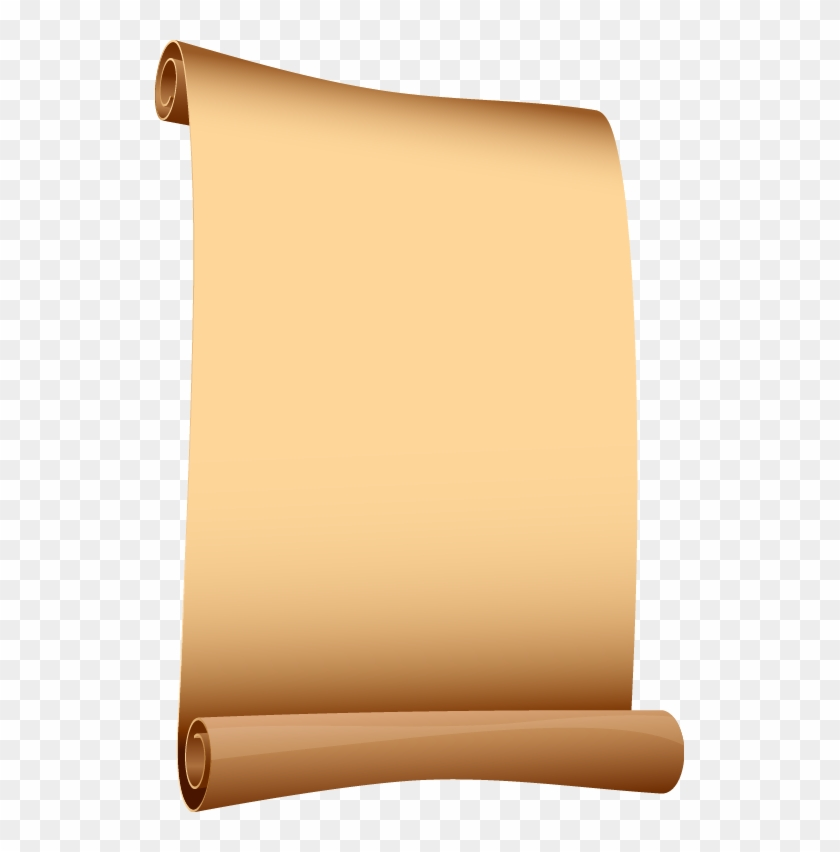 529 X 772 14 - Old Paper Scroll Png, Transparent Png