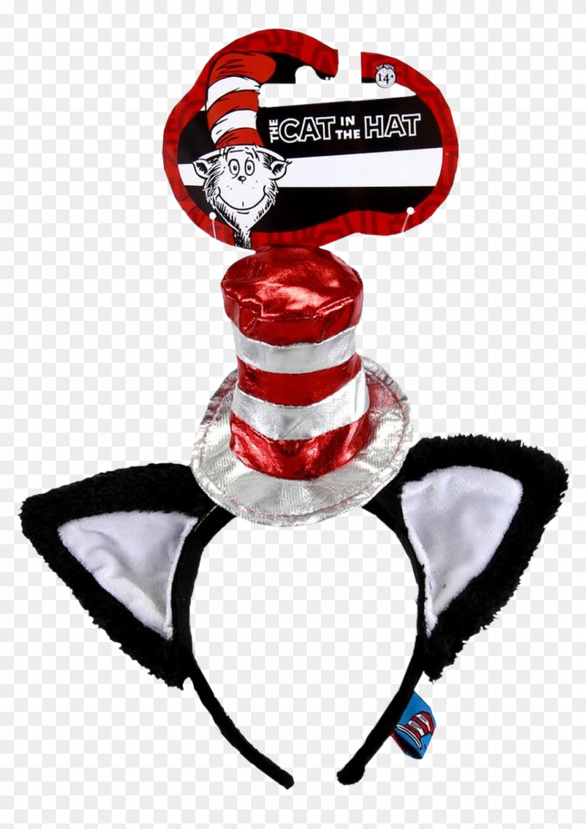 Cat In The Hat Deluxe Headband Cat In The Hat Inspired Outfit Hd