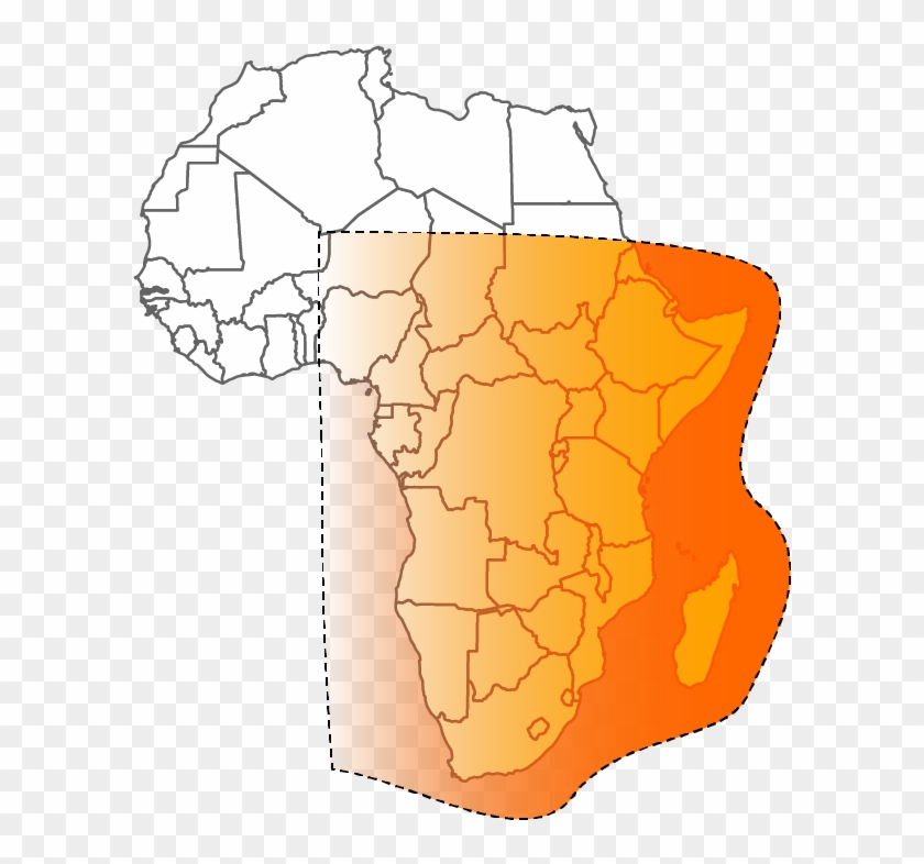 graphic regarding Printable Africa Map referred to as Satellite Clipart Dth - Blank Africa Map Printable, High definition Png