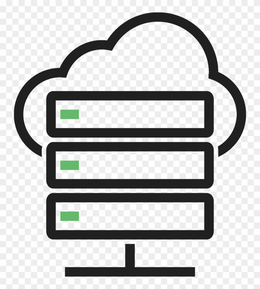 Cloud Server Icon Png Free, Transparent Png - 750x855(#2505119