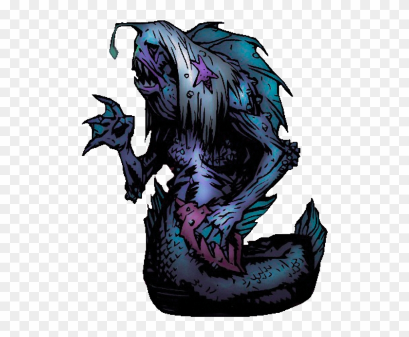 Siren Darkest Dungeon Fish People Hd Png Download 534x640