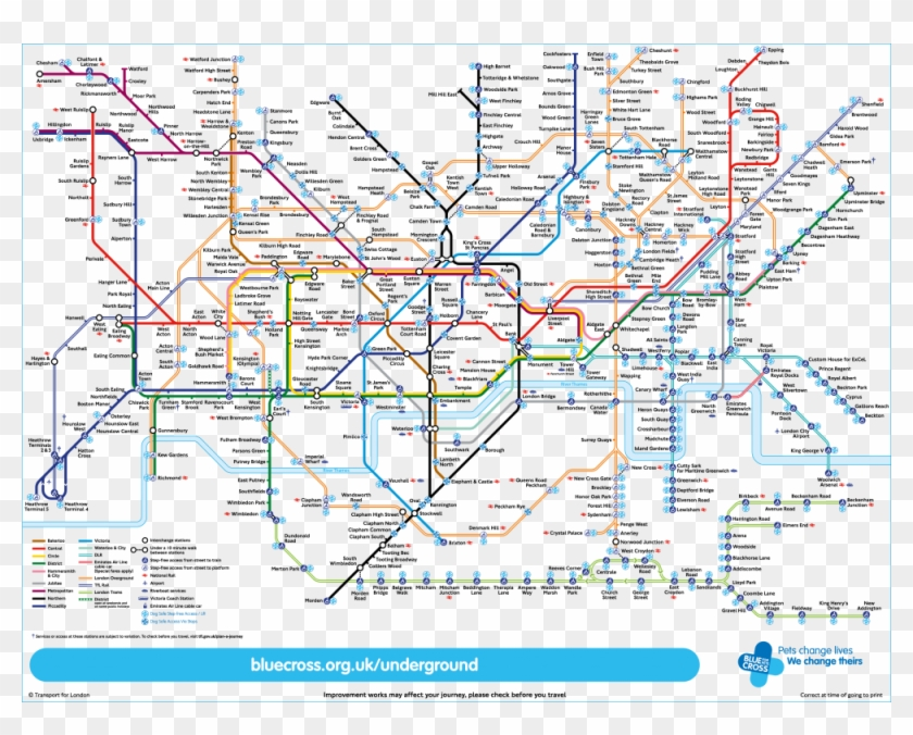 Download Map London.Dog Friendly Tube Map London Underground Map Hd Png Download