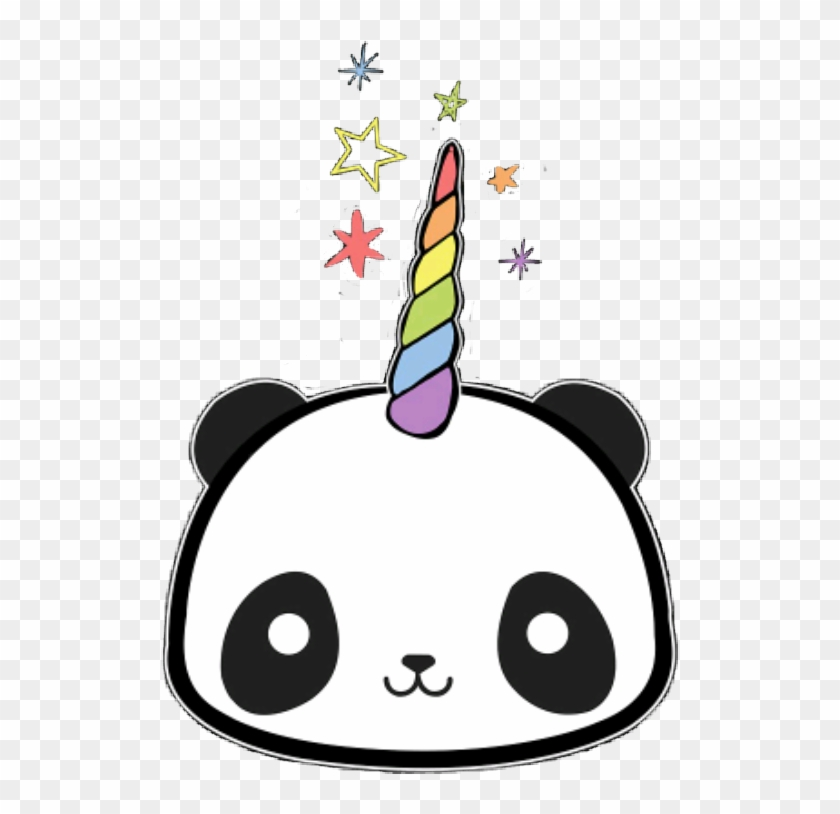 Png Image With Transparent Background Kawaii Unicorn Panda Cute Png Download 517x734 2524201 Pngfind