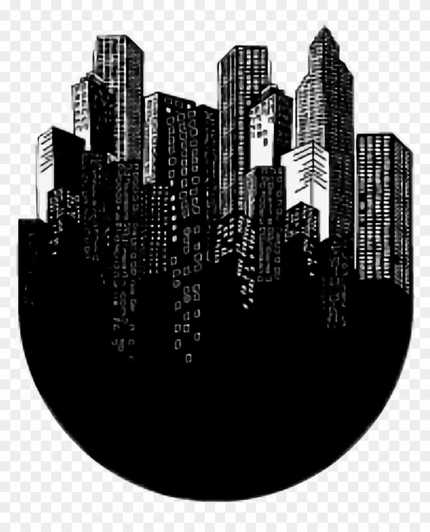 City aesthetic black white blackandwhite tumblr metropolitan area