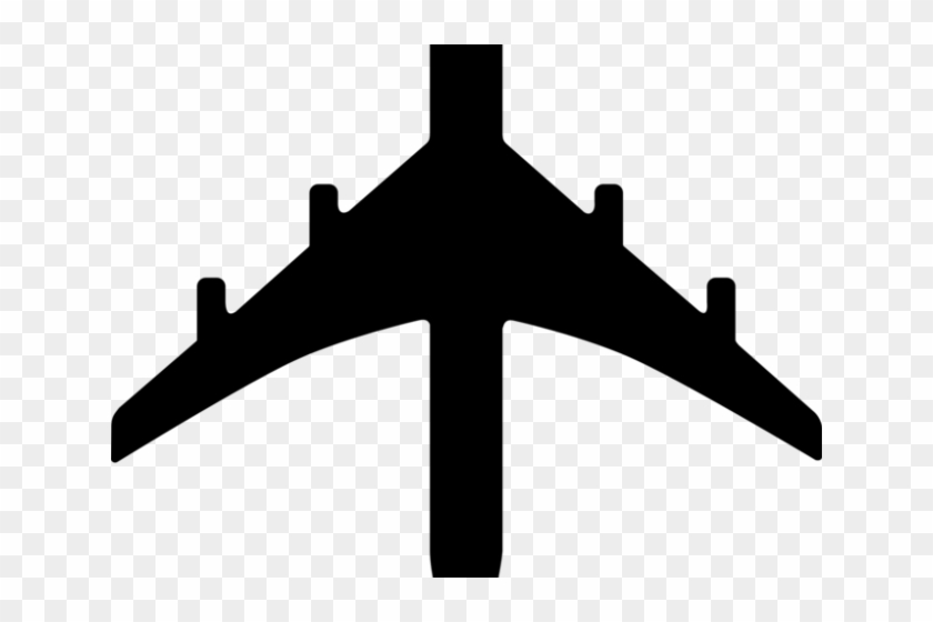Plane Clipart Silhouette Airplane Drawing Black And White Hd