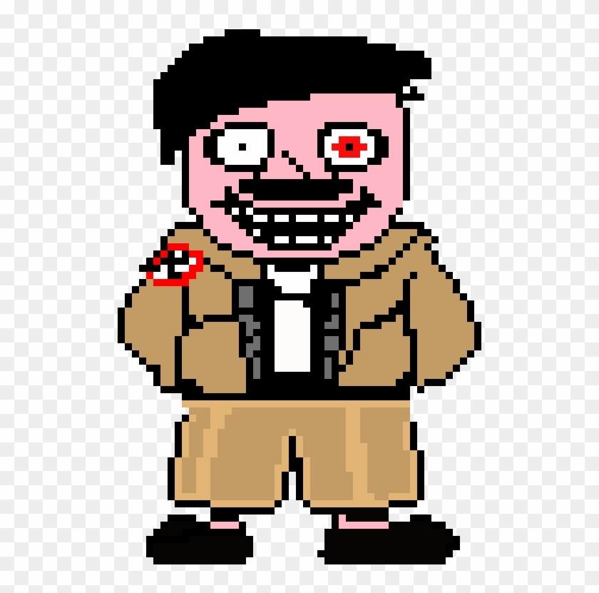 Hitler Pixel Art Maker Clipart Png Download Sans Face Undertale Pixel Transparent Png 511x751 2538358 Pngfind