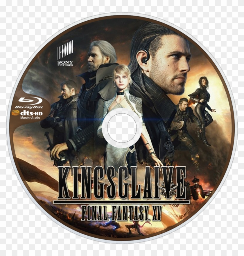 Final Fantasy Xv Bluray Disc Image Kingsglaive Final Fantasy Xv