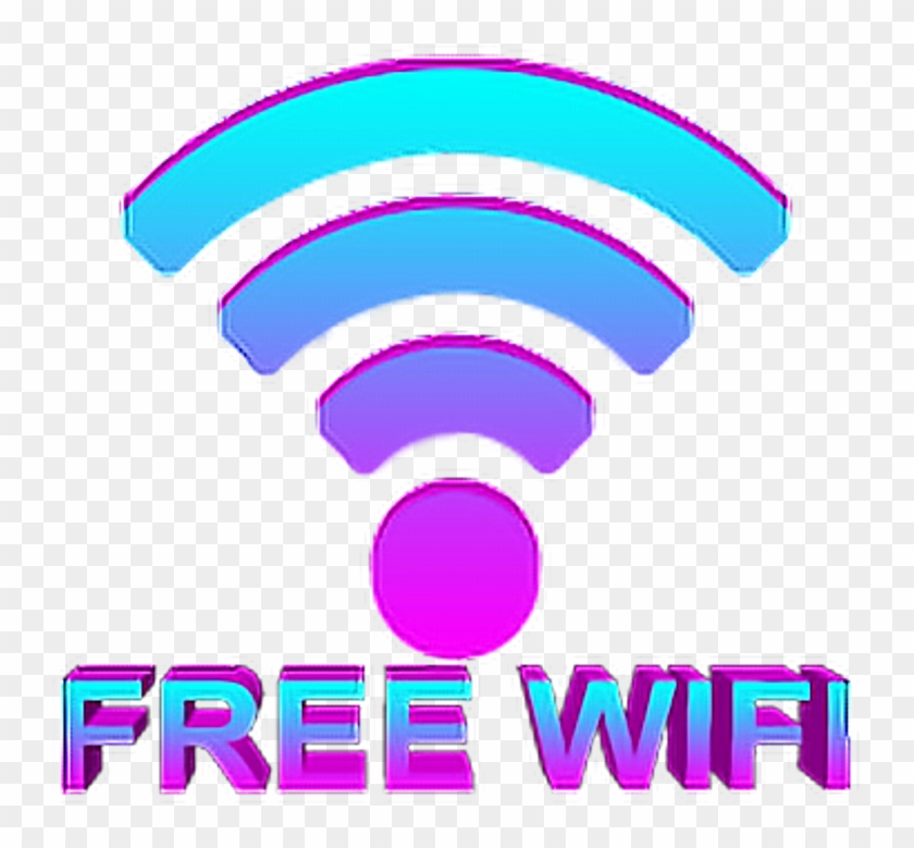 Wifi Freewifi Vapor Vaporwave Gif Transparent Background