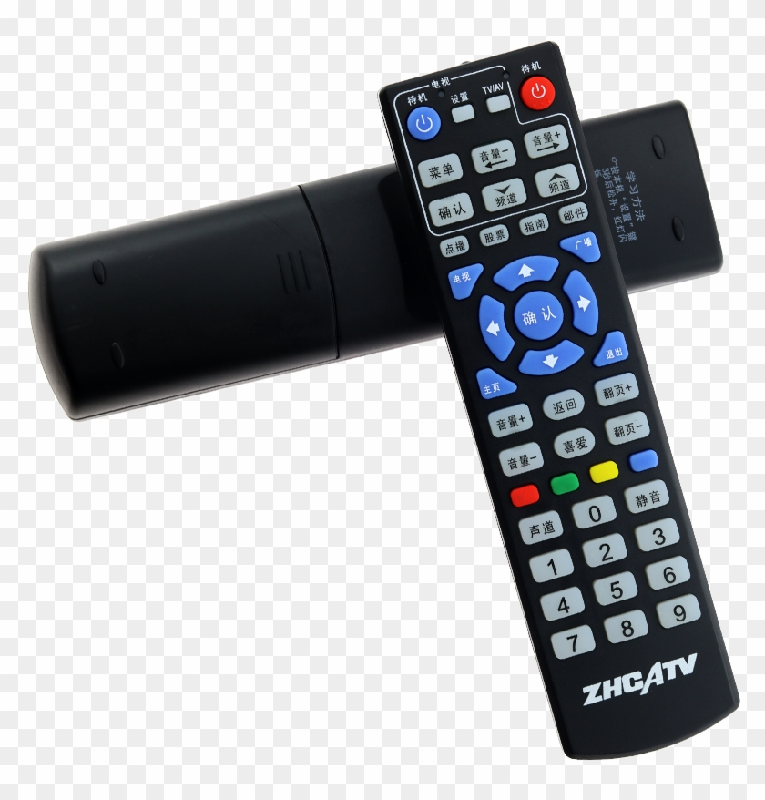 Zhuhai Zhcatv Digital Tv Set-top Box Remote Control - Telephony, HD