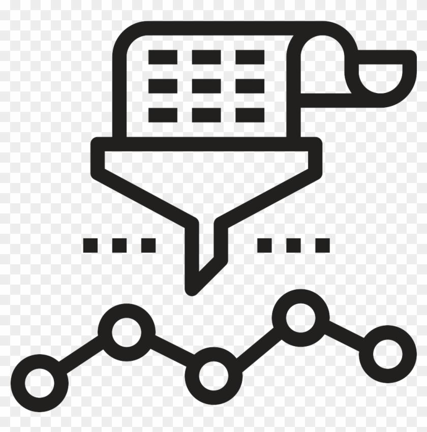 Analyzing The Data - Data Analysis White Icon, HD Png