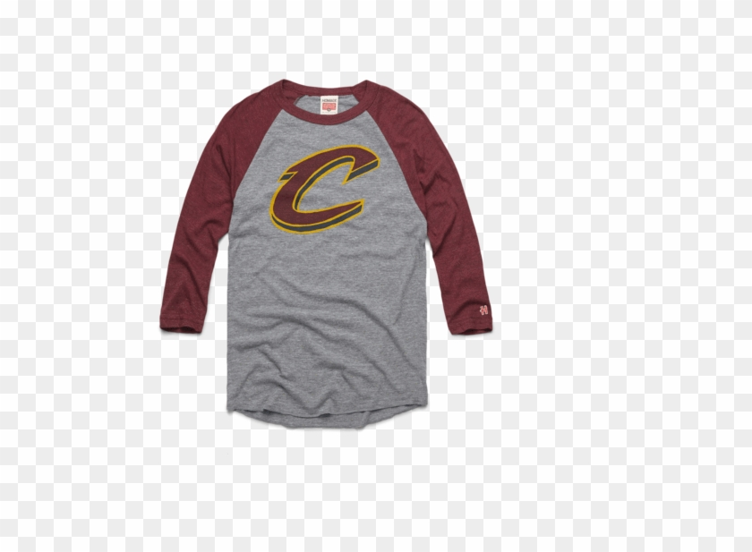 huge discount 73fb0 4b2bd Cavaliers Big C Raglan Retro Cleveland Cavs Nba Basketball ...