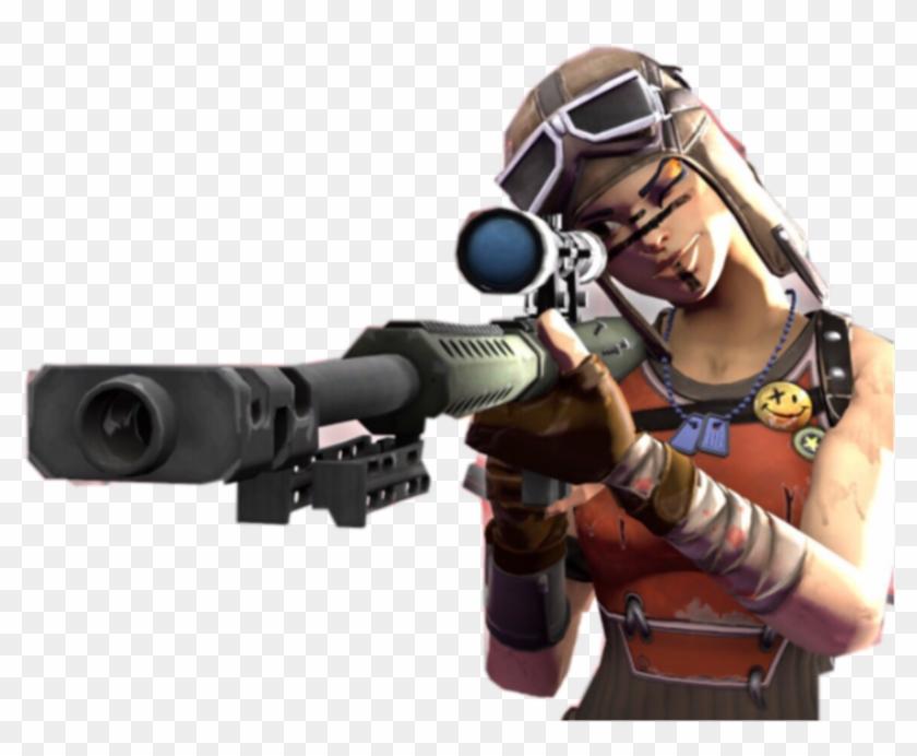 Fortnite Sniper Renegade Raider Renegaderaider Fortnite Hd