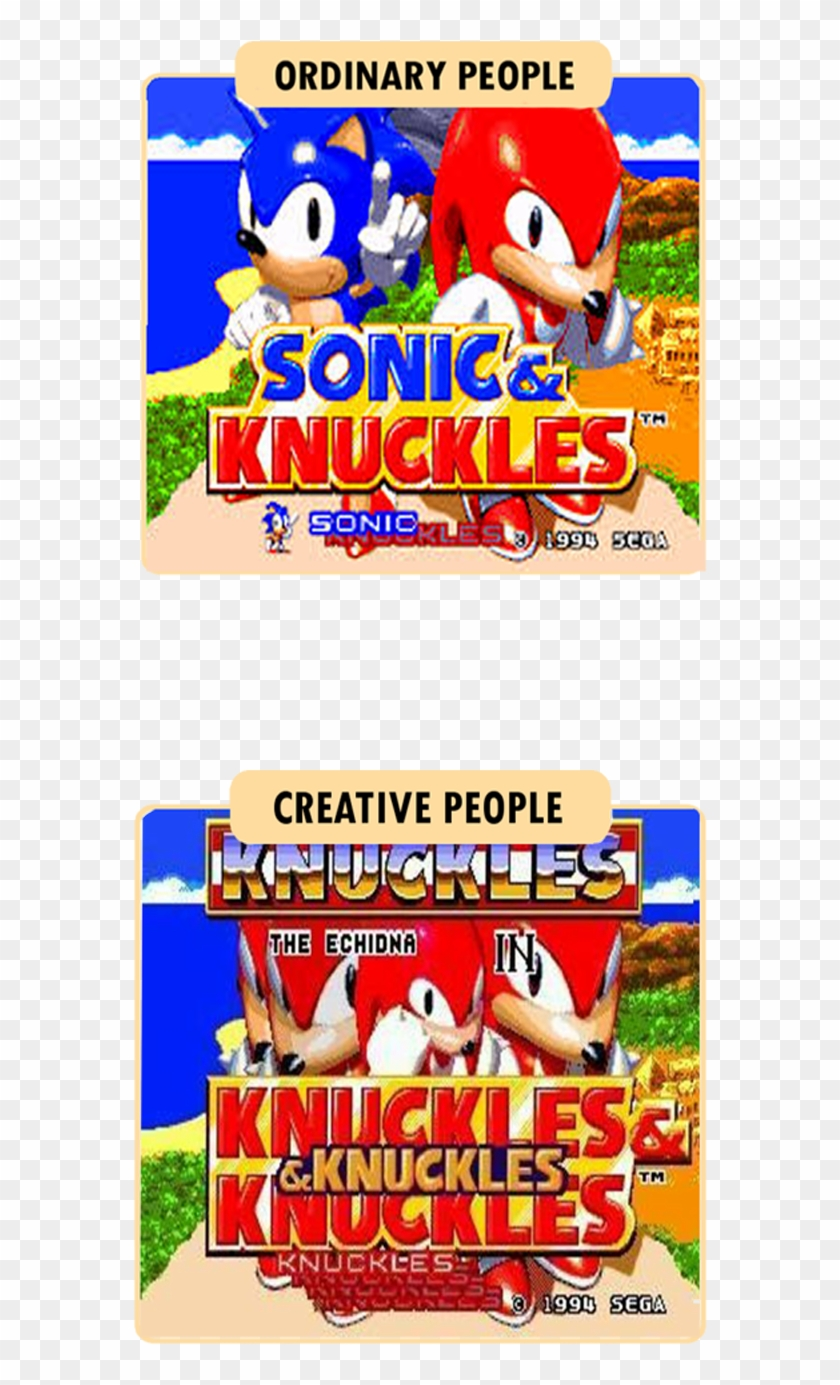 How Creative People See Sonic 3 & Knuckles - Sonic 3 And Knuckles