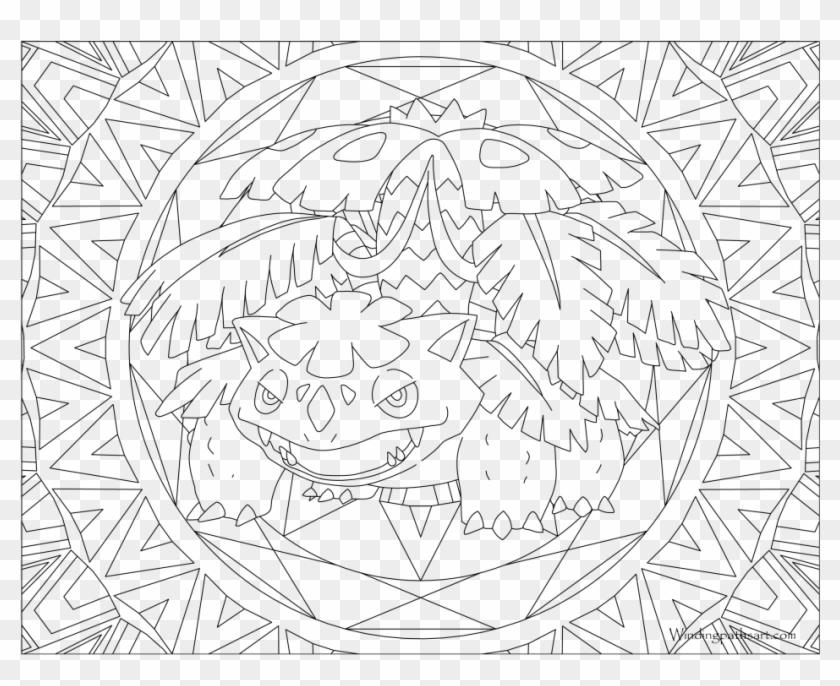 Bold Design Mega Venusaur Coloring Pages Unlimited - Mega ...