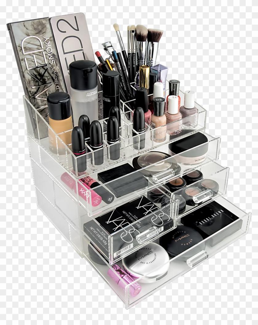 Transpa Makeup Box