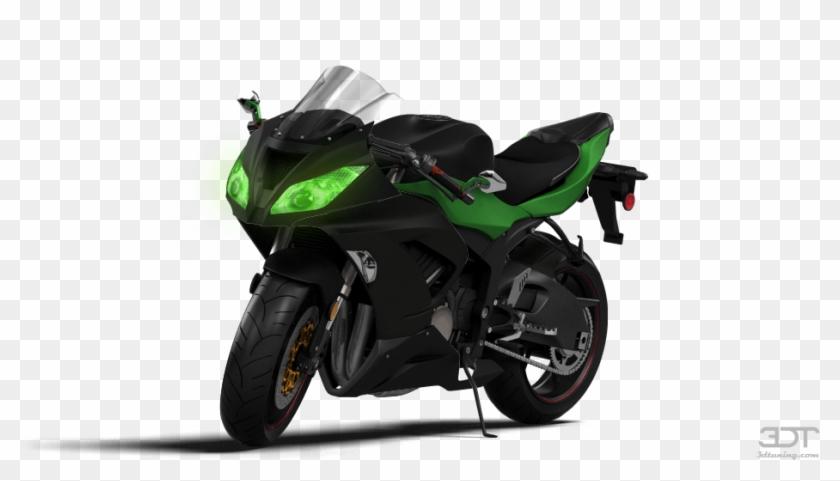Kawasaki Ninja Zx 6r Sport Bike 2015 Tuning Bike Png Image Hd