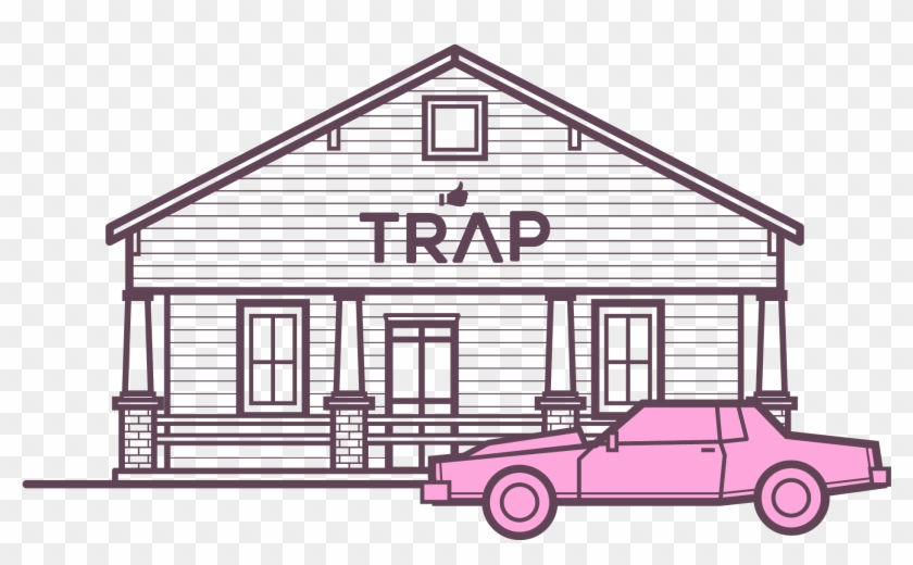 Trap House Png Transparent Background Drawing Of A Trap House Png Download 2494x2494 2591005 Pngfind