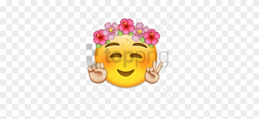 Free Transparent Flower Crown Tumblr Image With Transparent Cute
