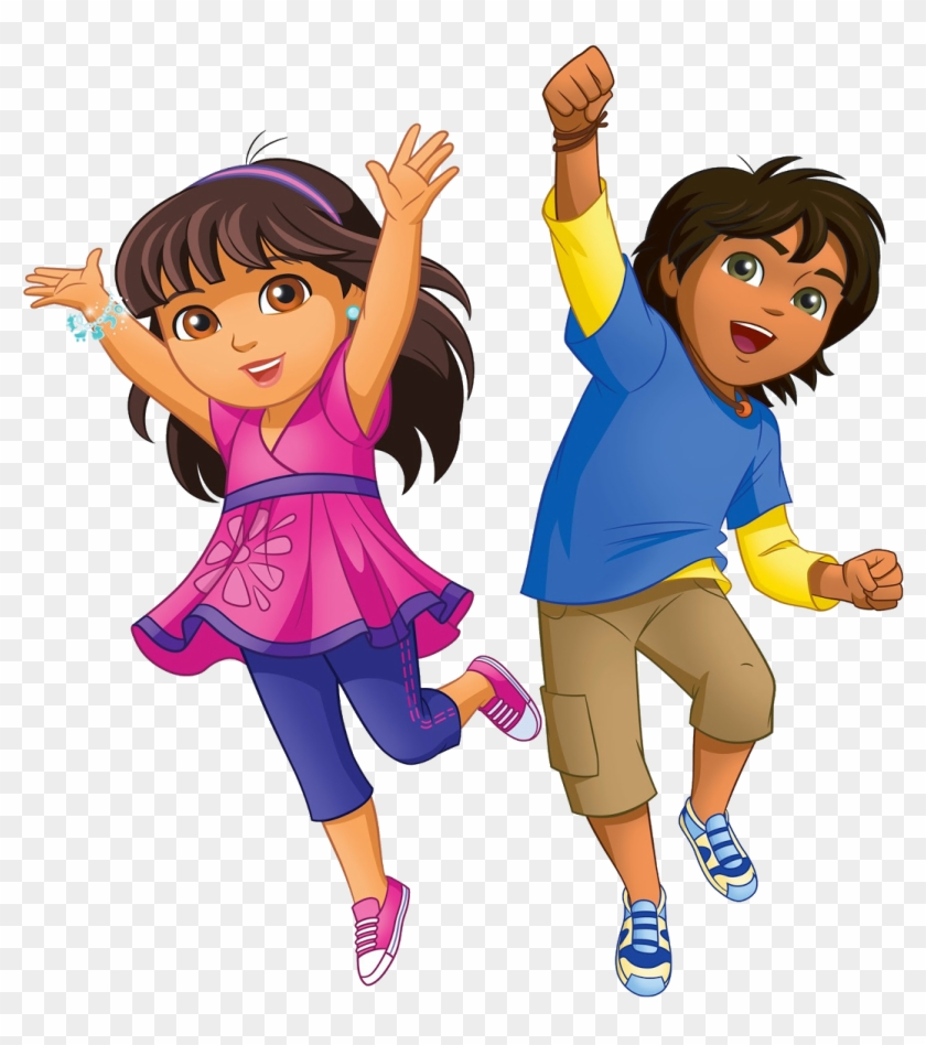 Dora And Friends Dora And Diego Now Hd Png Download 1113x1600