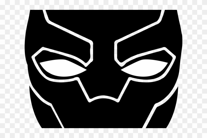 Black Panther Clipart Panther Logo Black Panther Face Drawing Hd Png Download 640x480 261962 Pngfind