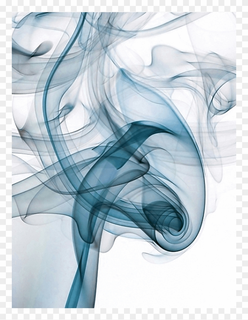 Smoke Abstract Blue Innovate Interiors Frame Options
