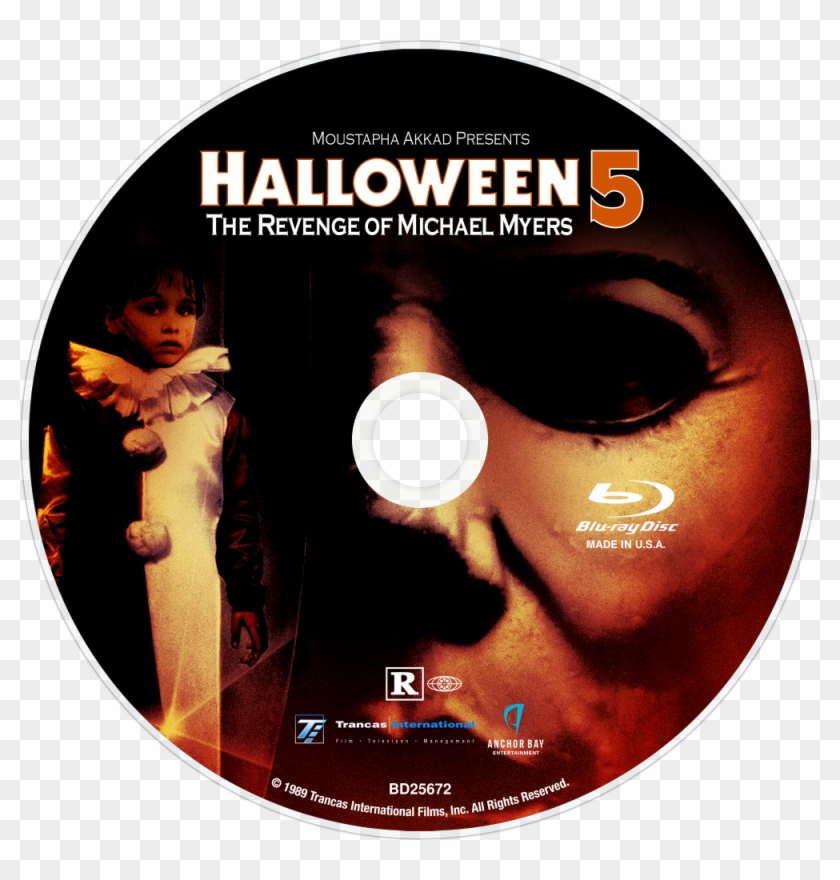 Halloween 5 Blu Ray.The Revenge Of Michael Myers Bluray Disc Image Halloween 5 Blu Ray