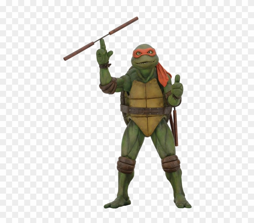 Ninja Turtles Png Image Background Neca Michelangelo 1 4