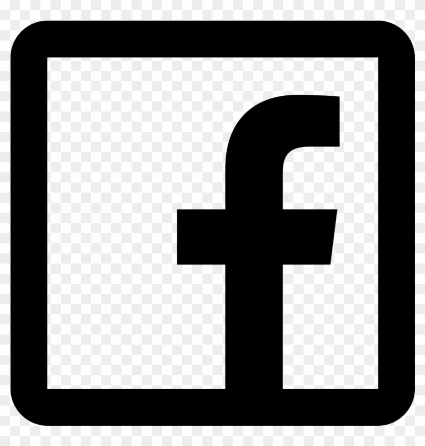 facebook icon black and white png