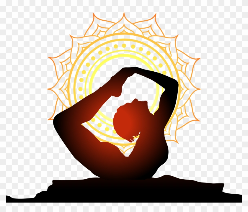 Women Performing Yoga With Sun Background Yoga Logo Vector Yoga Logo Png Transparent Png 4588x3713 269007 Pngfind