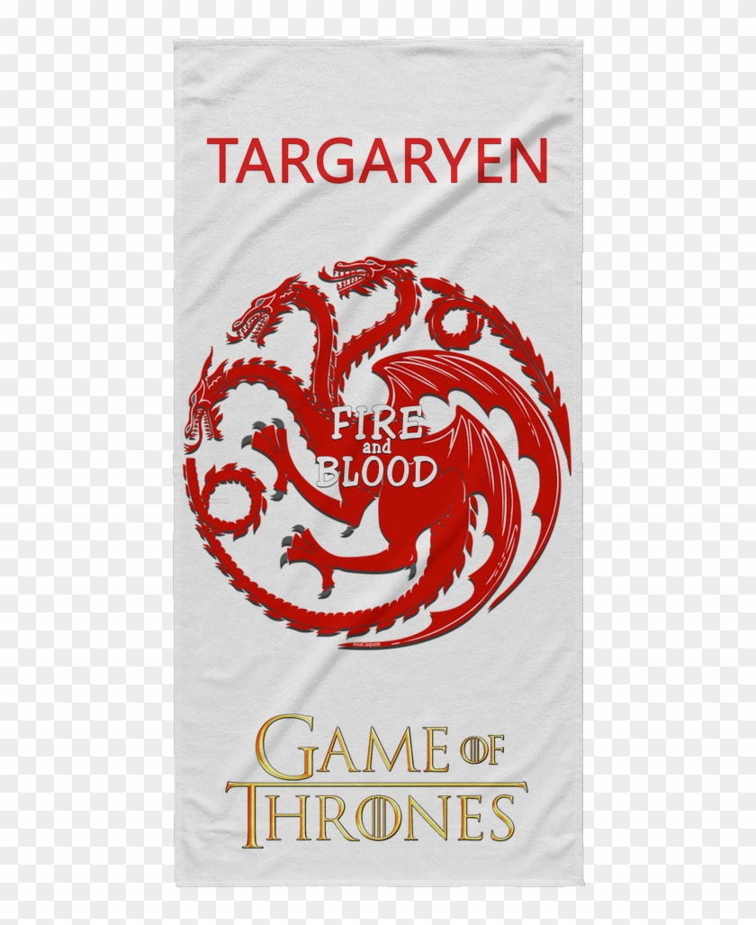 Of Thrones Beach Towel Fire And