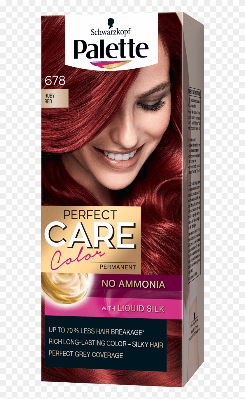 Palette Com Perfect Care Baseline 678 Ruby Red Palette Brown Hair Colors Hd Png Download 970x1400 2606434 Pngfind