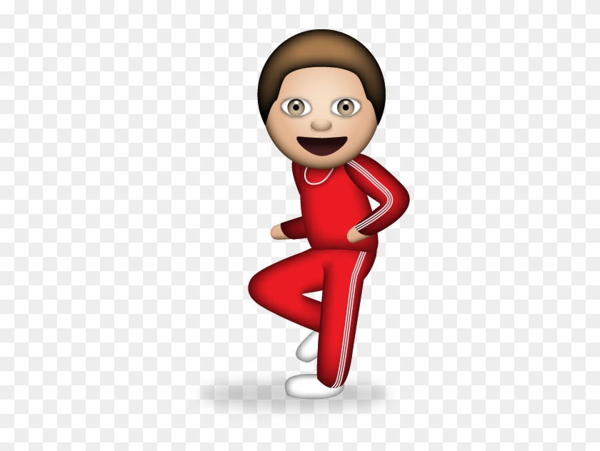 Free Download Emoji - Running Man Dance Emoji, HD Png Download