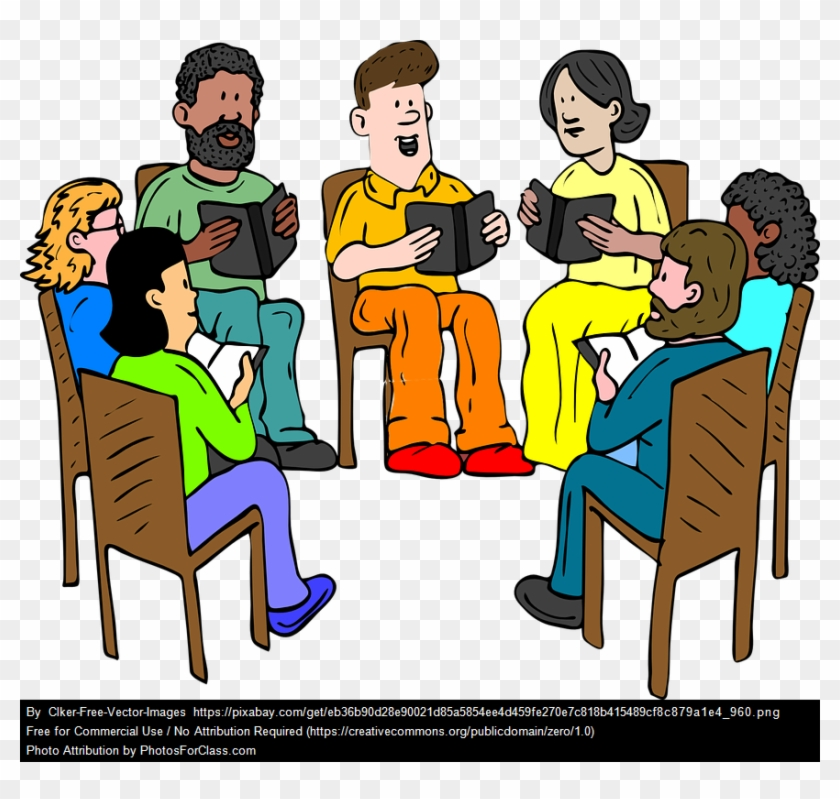 Book Club Practice Religious Group Clip Art Hd Png Download 872x788 2622134 Pngfind