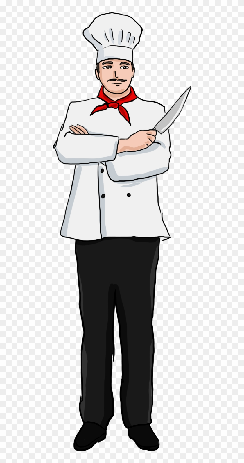 Chef Clipart #1470018 - Illustration by Graphics RF