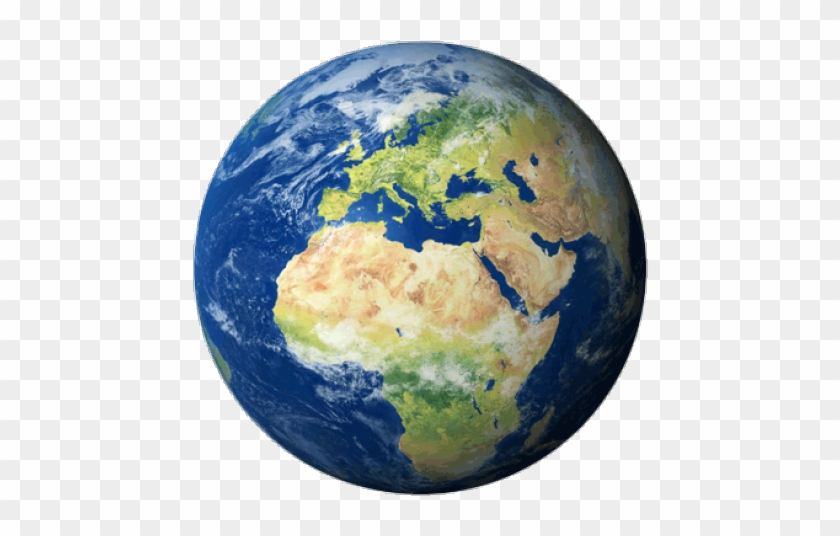 Earth real. World clipart transparent background