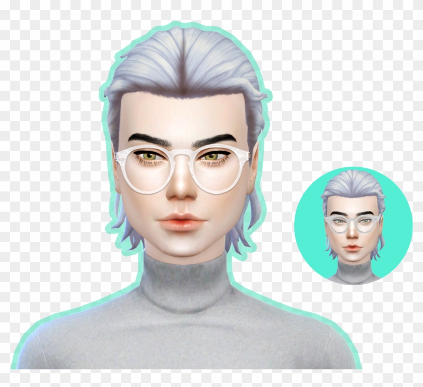 The Sims Forums Sims 4 Cc Maxis Match Glasses Hd Png Download 1600x1333 2636576 Pngfind