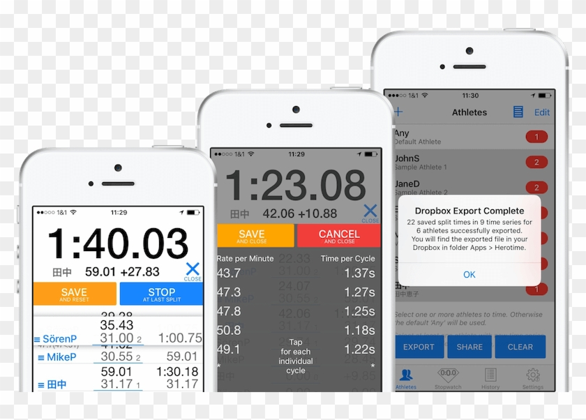 Sports Stopwatch Reinvented - Swim Stopwatch In Excel, HD