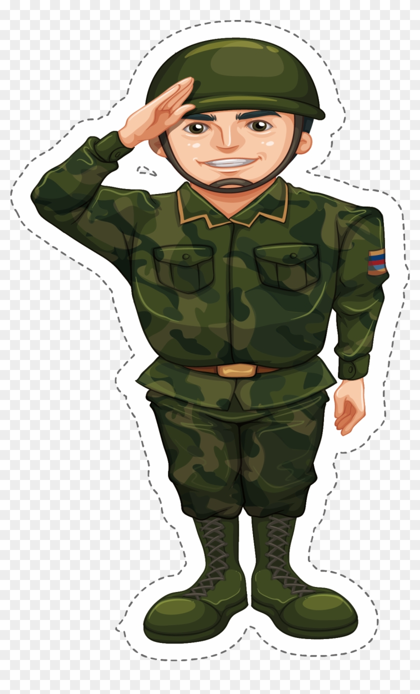 Png Transparent Download Soldier Salute Clipart - Indian