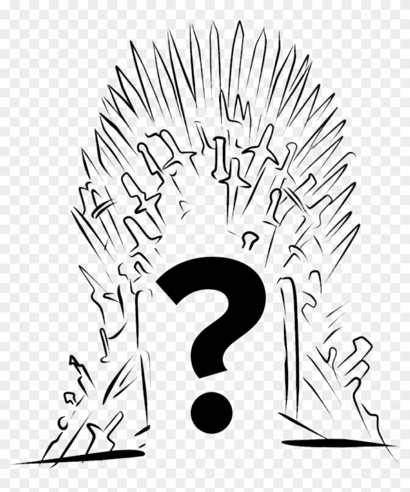 How it works iron throne easy drawing hd png download