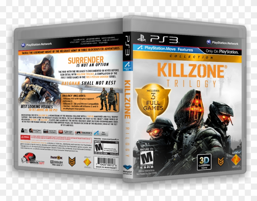 Call Of Duty - Killzone Trilogy Ps3, HD Png Download