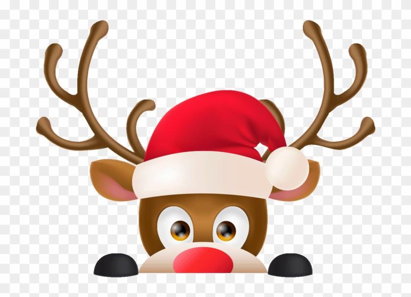Christmas Reindeer.Renne Png Christmas Reindeer Transparent Png 700x700