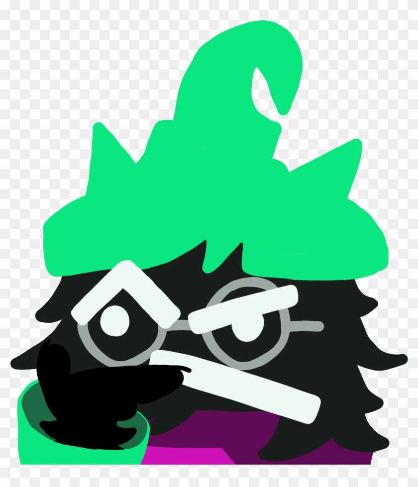 It Really Makes The Goat Boi Think - Discord Emoji Ralsei, HD Png