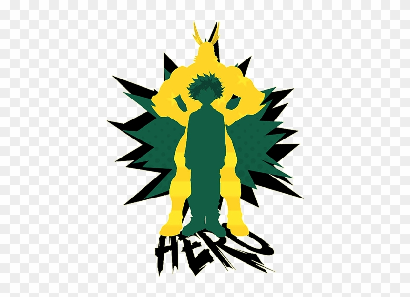 My Hero Academia By Lucky Jamaicu Deku And All Might Boku No Hero Hd Png Download 600x600 2691644 Pngfind